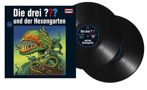die drei fragezeichen 184 und der hexengarten vinyl