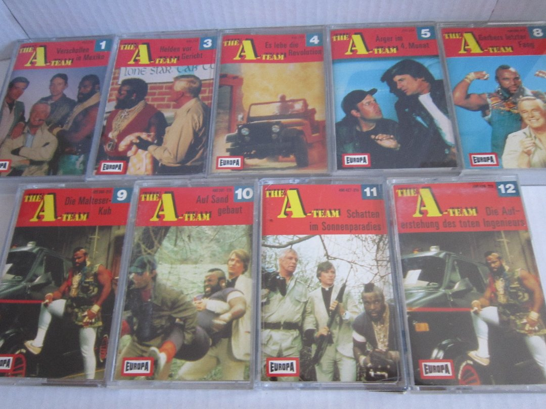 A-Team Hörspiele Bildquelle: Collectibles-Hamburg.de