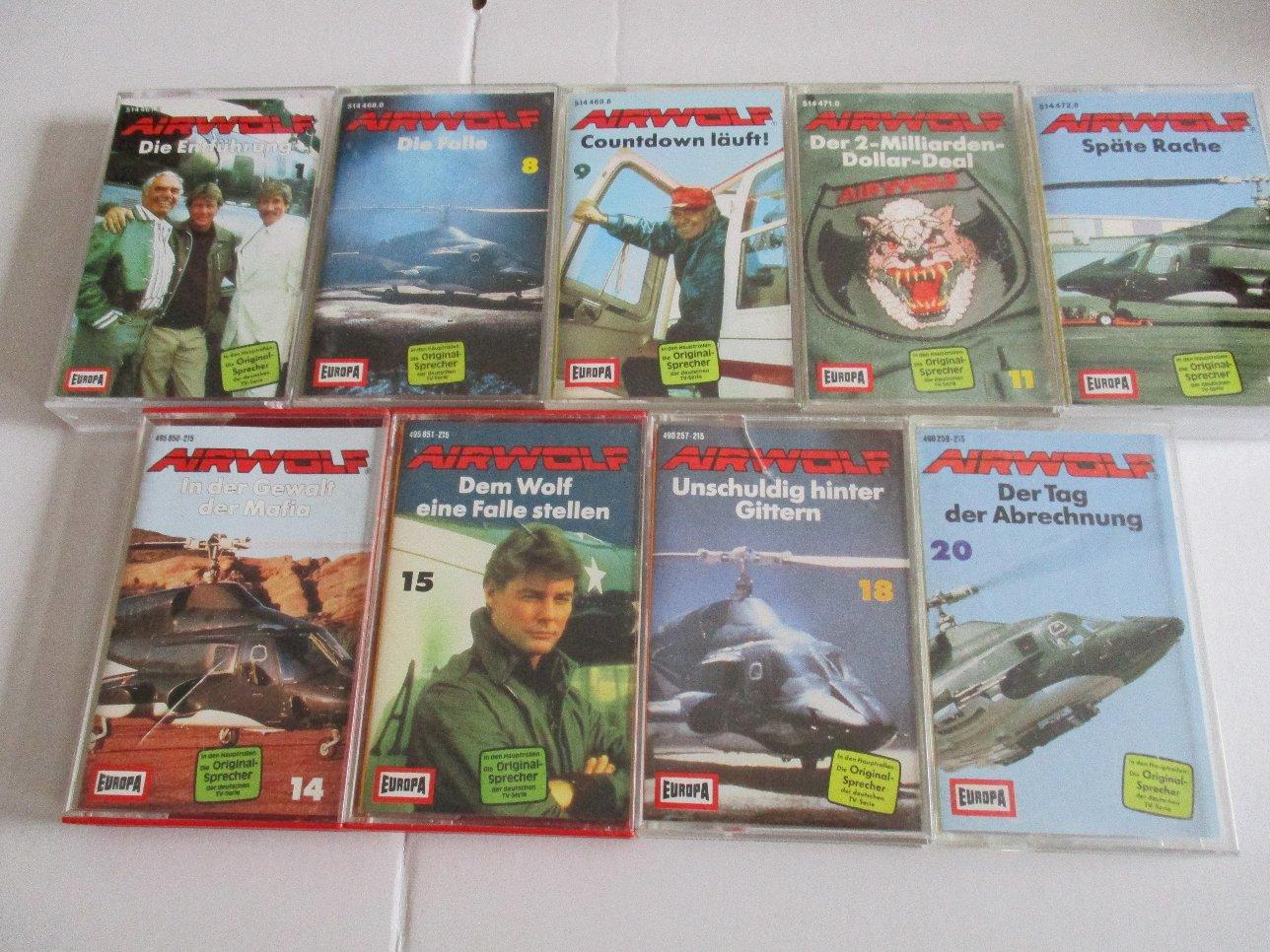 Airwolf Hörspiele Bildquelle: Collectibles-Hamburg.de