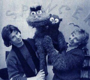 Herbert Langemann & Angelika Paetow mit Nepomuk & Kasimir Bildquelle Muppet Wiki